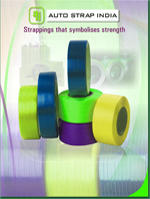 AUTO STRAP, Manufacturing Straps, Packaging of Cartons, Unitised Packs, Sealing Machines, Manufacturing of PP Strap, Strap Manufacturing Company, Imported Strap Manufacturing Machinery, Vadodara, Gujarat, India.